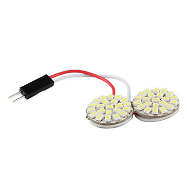 1206 smd 44 led wit licht lamp voor auto lezen dome for Led autolampen
