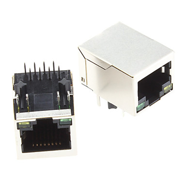 hanrun hr911105a diy rj45 network adapters w/ indicator light