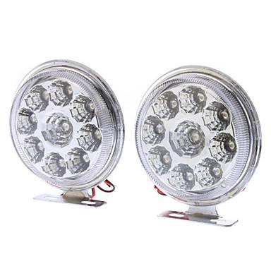 ampoule pour voitures feux de jour 12v dc 1 paire 5w 400 450lm led lumi re blanche de