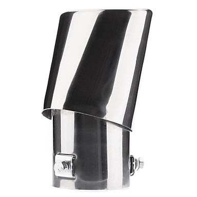 Stylish Stainless Steel Protective Exhaust Pipe Muffler Tip for Car