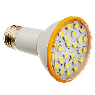 Faretti LED 25 SMD 5050 MR16 E26/E27 6W 500 LM Luce fredda AC 220-240 V del 7...