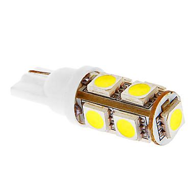T10 2w 9x5050smd 81lm 6000 7000k bianco freddo della for Lampadine led per auto