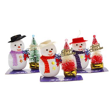 Bonhomme de neige casquette et arbre de no l d coration de - Decoration de noel bonhomme de neige ...