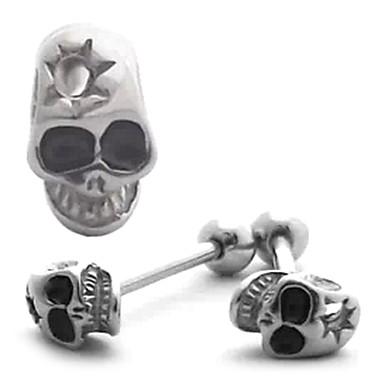 3D Skull Ring tongue