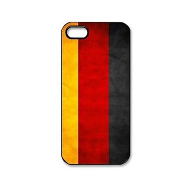 deutschland flaggen muster kunststoff hard case f r iphone. Black Bedroom Furniture Sets. Home Design Ideas