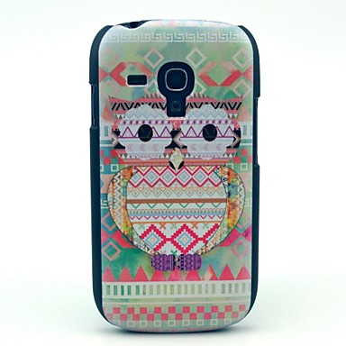 Tribal Carpet Owl Pattern Hard Case for Samsung Galaxy S3 Mini I8190