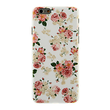 Rose Blossoming Pattern PC Hard Back Cover iPhone 6