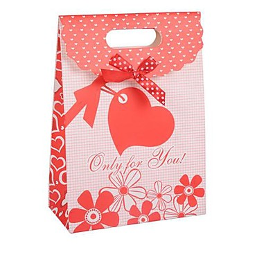 Wedding Gift Bags For Candy : Coway 16.5*12.5*6 Red Wedding Candy Paper Bag Cover Gift Bags 1910495 ...