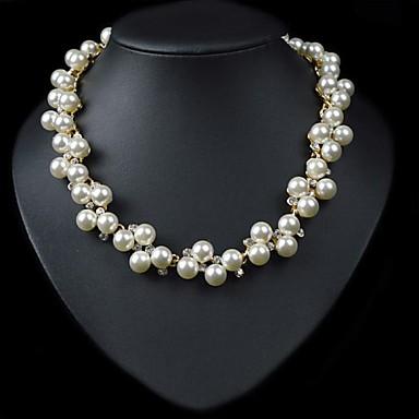 europa collar de gargantilla de perlas de clavícula de novia (Hualuo bisutería) 2062017 2016 \u2013 \u20ac10.99