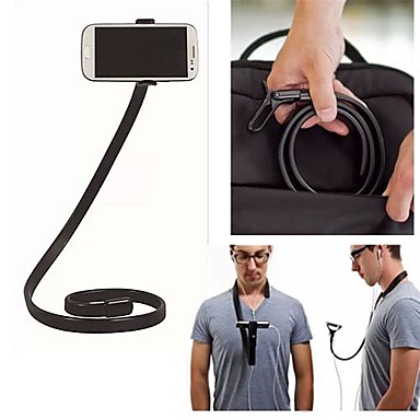 360 градусов вращения подвижный кронштейн металлическая подставка для iPhone 5 / 5S Samsung S4 / 5 HTC и другие