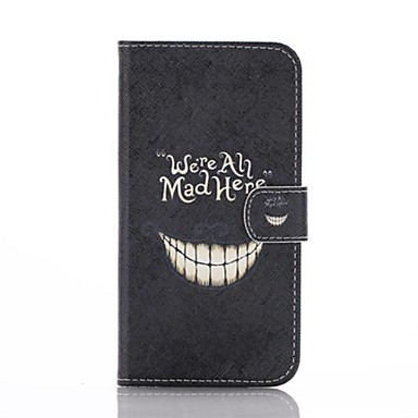 Lovely Teeth Pattern PU Leather Full Body Case with Stand for Motorola MOTO G2