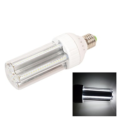 E27 11W 120X3014SMD 990LM 6000-6500K Cold White Light LED Corn Bulb Lamp (AC85-265V)