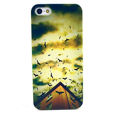Panic Flying Bird Pattern Hard Case Cove for iPhone 6