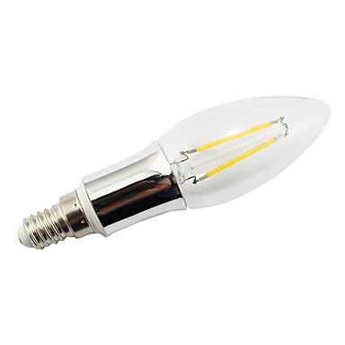 Lampade LED a incandescenza 2 COB E14 2 W 160 LM Bianco caldo AC 85-265 V del 2980260 2017 a €6.99