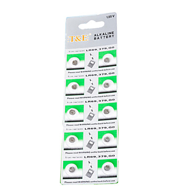 A76 LR44 LR1154 AG13 1.5V Button  Batteries (10PCS)