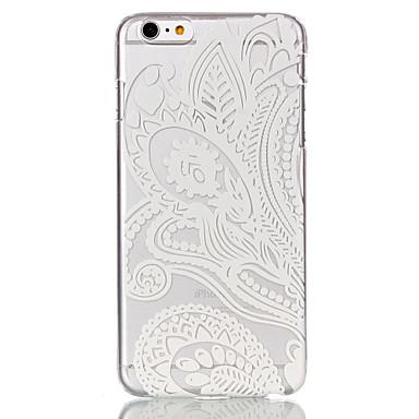 Höhle-Blumen-Muster-ultradünner harter rückseitige Abdeckungs-Fall für iPhone 6 Plus