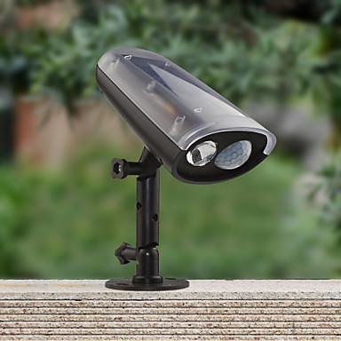 Zonne energie led spot montion sensor geactiveerd veiligheidsmuur flood pad tuin lamp licht - Kleine zonne lamp ...