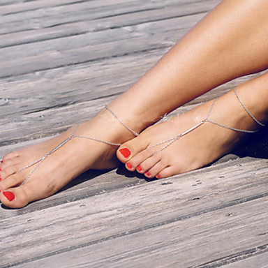 Fashion Summer Beach Simple Barefoot Sandals(1pc)