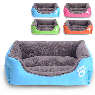 Colorful Stylish Pets House 50 x 40cm Square Rectangle Pet Bed for Dogs  Cats (Assorted Colors)