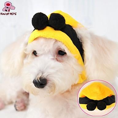 chat chien costume tenue bandanas chapeaux jaune v tements pour chien hiver mariage. Black Bedroom Furniture Sets. Home Design Ideas