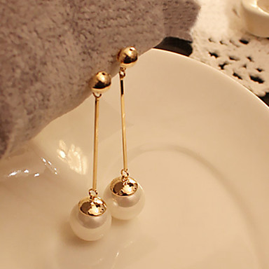Earring Drop Earrings Jewelry Women Party / Daily / Casual Alloy Silver
