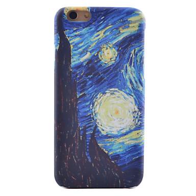 Kunst Van Gogh Gemälde Muster Ultrahochqualitätsstereoton Scrub Scratch nicht verblassen-Fall für iPhone 6Plus / 6S Plus-
