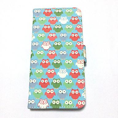 Multi Owl Painted PU-Fall für iPhone 6 plus / 6S Plus