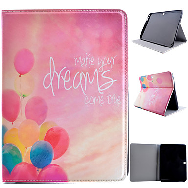 Samsung Galaxy Case Stand / Flip Pattern Full Body Balloon PU Leather SamsungTab 4 10.1 Tab S2 9.7 8.0