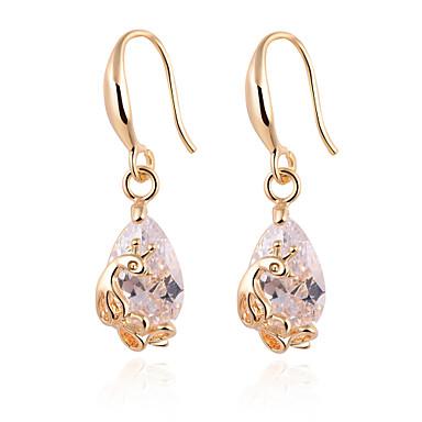 Allergy Free Gold Plated Women Drop Earrings European ...