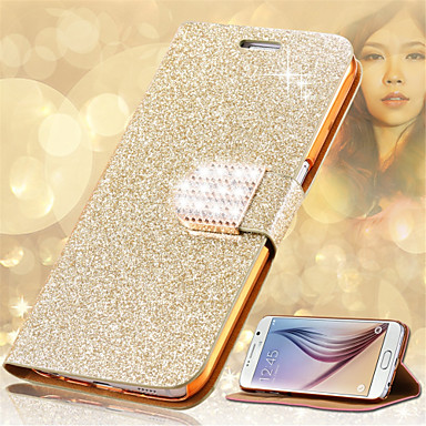 Fashion Women Crystal Diamond Flip Leather Phone Cover Samsung Galaxy Note 3/Note 4/Note 5