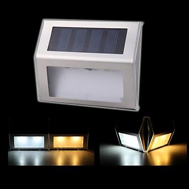 Appliques solaires 2 conduit ext rieur voie de jardin for Lampe a led exterieur