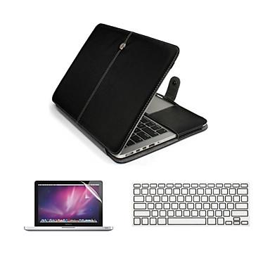 3 1 pu ordinateur portable en cuir cas sac avec for Ecran ordinateur solde