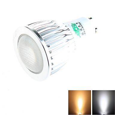 7W GU10 Lâmpadas de Foco de LED MR11 1 COB 650 lm Branco Quente / Branco Natu...
