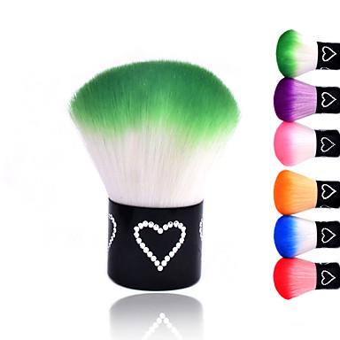 neue bunte nagel werkzeuge pinsel f r acryl uv gel nagel kunst staub reiniger nagelstaubb rsten. Black Bedroom Furniture Sets. Home Design Ideas