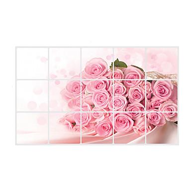 Florales 3d pegatinas de pared calcoman as de aviones para - Calcomanias para paredes ...