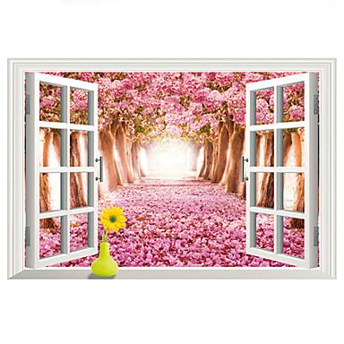 Paesaggio adesivi murali adesivi aereo da parete adesivi for Adesivi parete 3d