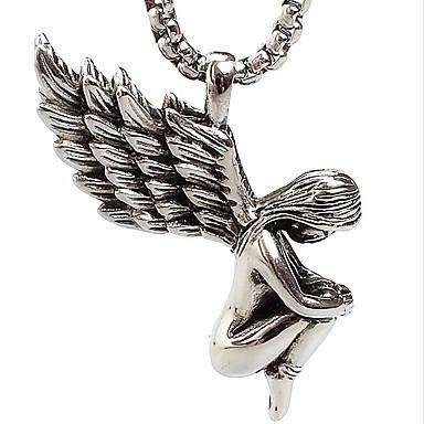 angyal szárnyak titán acél nyaklánc (kivéve lánc) 5069629 2017 ...