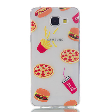 For Samsung Galaxy A5(2016) Fruit Pattern High Permeability TPU Material Phone Case