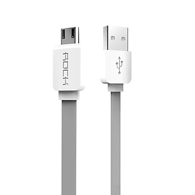 Rock Original Micro USB Cable for Android (Multiple Colors)