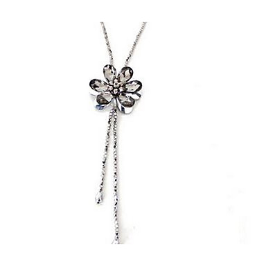 Women's Pendant Necklaces Imitation Diamond Chrome Euramerican Fashion Jewelry For Party Special Occasion Birthday Gift 1pc