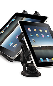 Supporto da auto, universale, girevole, in plastica, per iPad, GPS e Netbook/DV