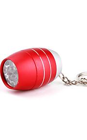 Nøgleringslommelygter LED 1 Tilstand 50 Lumens Super Let / Komapkt Størrelse / Lille størrelse Andre CR2032 Andre ,Sort / Blå / Grøn /