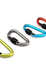 D Shaped Locking Carabiner 10mm