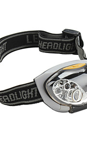 LED Lommelygter / Hovedlygter LED 4.0 Tilstand Lumens Andre AAA Cykling - Andre , Sort Plastik