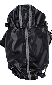 Adjustable Rain Coat with Reflect Light for Dogs (XS-L,Assorted Color)