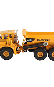 KAIDIWEI Building Site Mini Dump Truck flexível do metal
