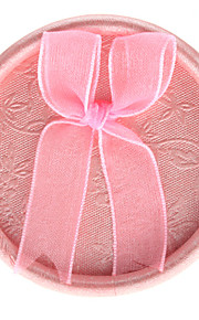 bowknot stil runde form lille ring gaveæske (indeholder 2 æsker)