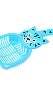 Lovely Cat Style Cat Litter Shovel (Farbe sortiert)