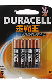 Duracell Alkaline 1.5V AAA batterij (4-pack)