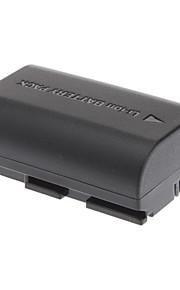 7,4 V 1800mAh Li-ion Vervangbare Camcorder / DV / Video Accu voor Canon LP-E6 + (zwart)